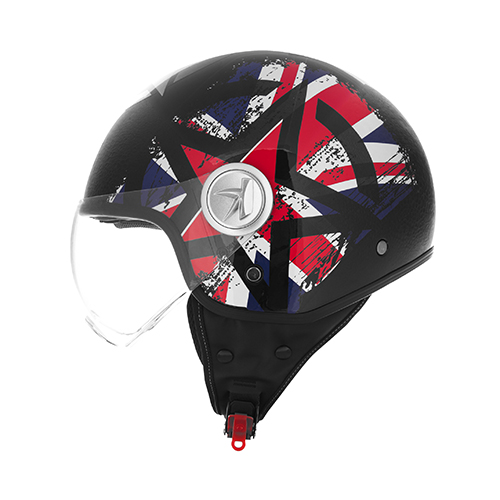 Color Union Jack / glossy black