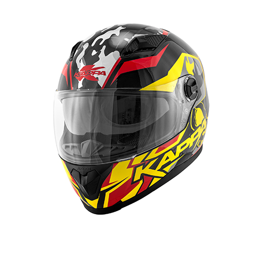Couleur Skull free ride jaune